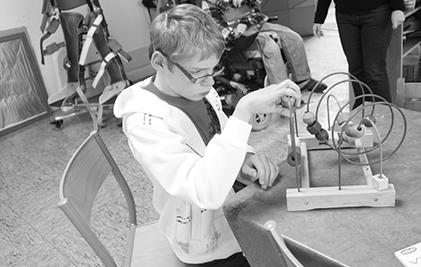 L'institut médico-éducatif La Pépinière (Loos) accueille des enfants de 6 à 20 ans déficients visuels multihandicapés.