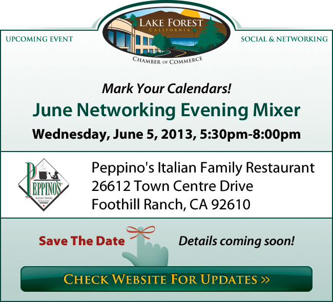 June Networking Evening Mixer